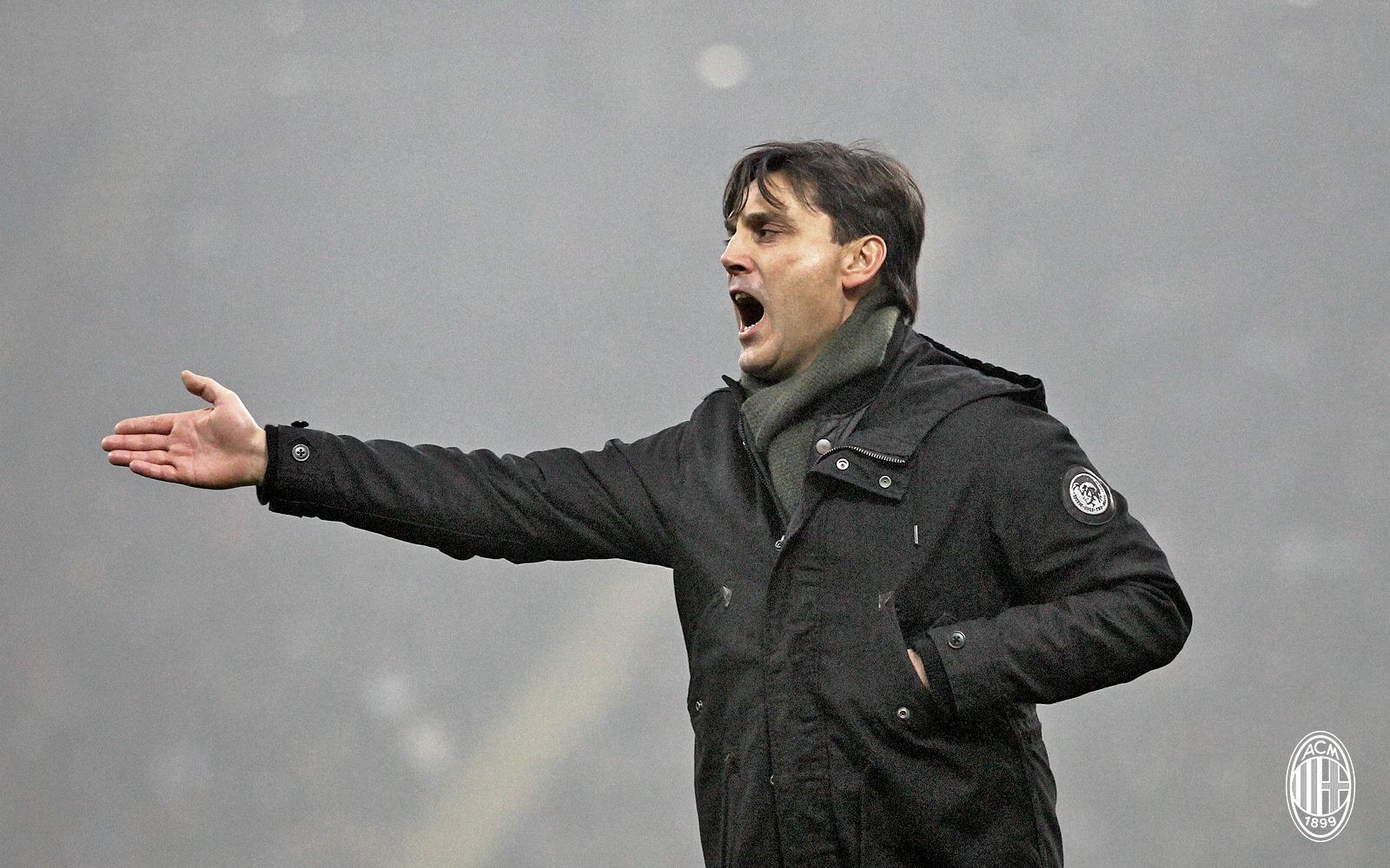 Vincenzo Montella. Fonte foto: A.C. Milan