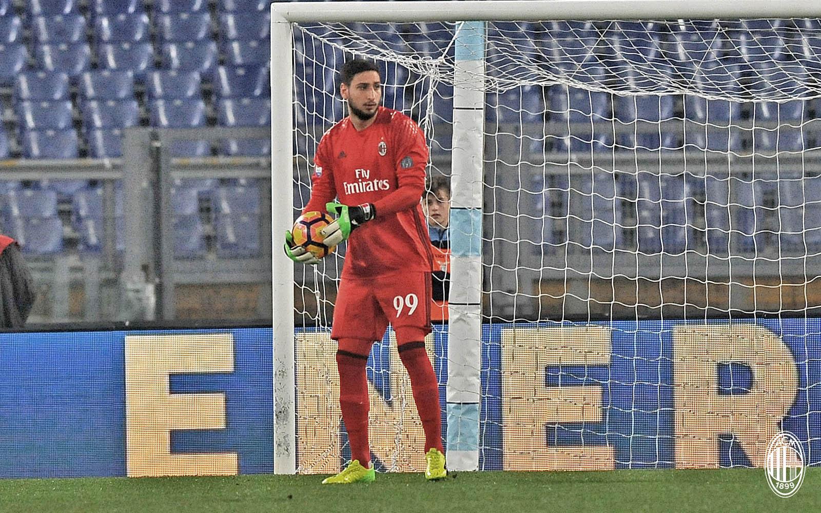 Gigio Donnarumma Lazio-Milan