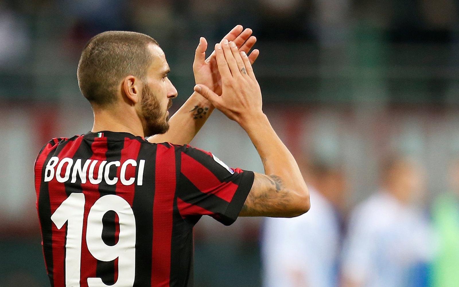 Bonucci Fonte: AC Milan