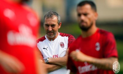 Il tecnico del Milan Marco Giampaolo. Fonte: acmilan.com