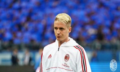 Andrea Conti è arrivato al Milan dall'Atalanta nell'estate del 2017. Fonte: acmilan.com