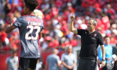 Marco Giampaolo ha allenato la Sampdoria nell'ultima stagione. Fonte: acmilan.com