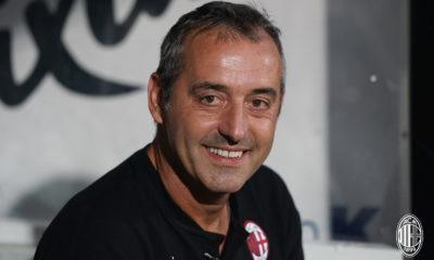 Marco Giampaolo, tecnico del Milan. Fonte: acmilan.com