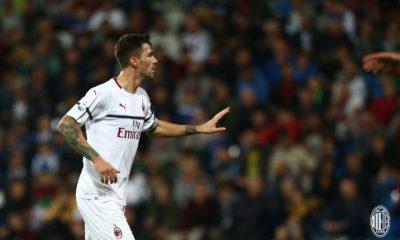 Alessio Romagnoli è arrivato al Milan nell'agosto del 2015. Fonte: acmilan.com