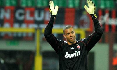 Nelson Dida ha difeso i pali del Milan dal 2002 al 2010.