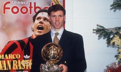 Marco Van Basten ha vinto tre volte il Pallone d'Oro.