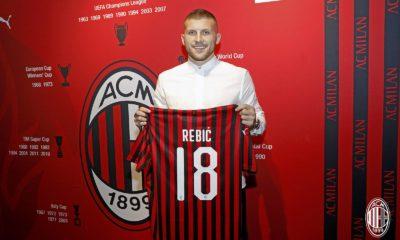 Ante Rebić. Fonte: acmilan.com