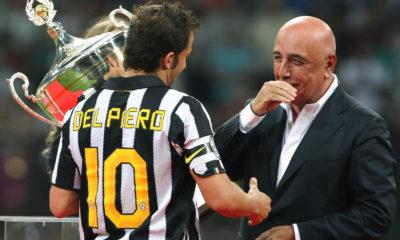Alessandro Del Piero e Adriano Galliani.
