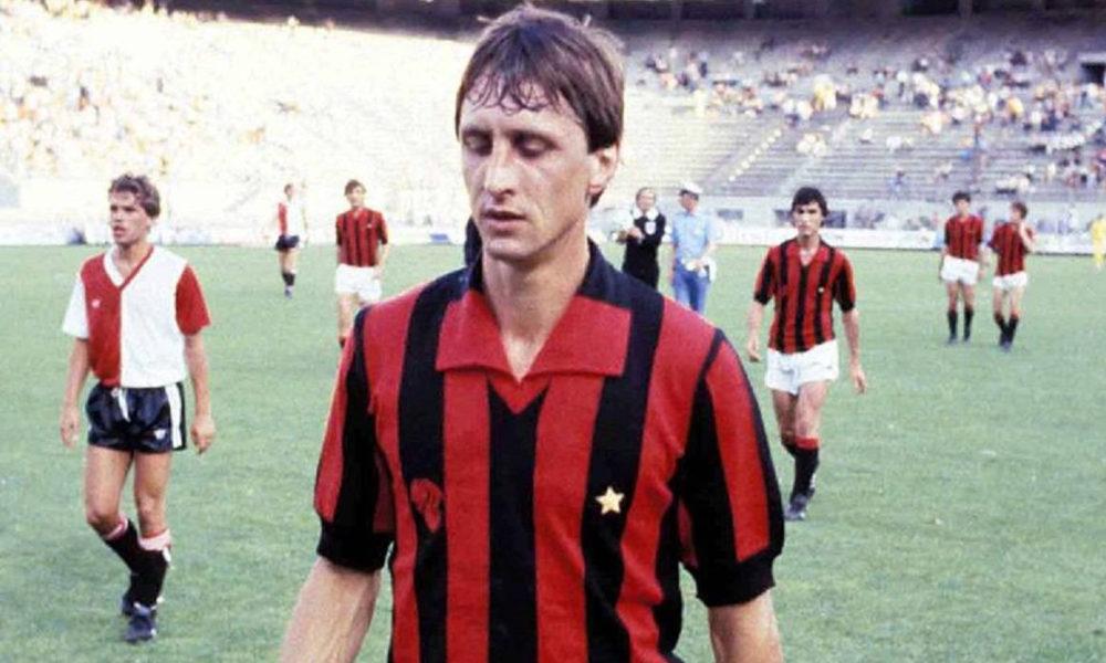 Johan Cruyff, quella volta in rossonero…