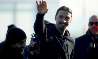 Ibrahimovic Milanello infortunio ok