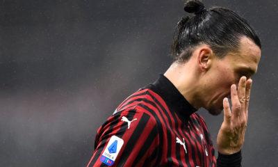 Zlatan Ibrahimovic infortunio