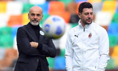 Stefano Pioli e Daniele Bonera